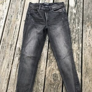 express, black charcoal jeans
